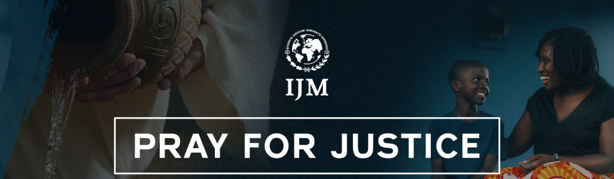 A Day with International Justice Mission: A Beautiful Waste